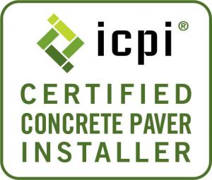 Certified Concrete paver installer