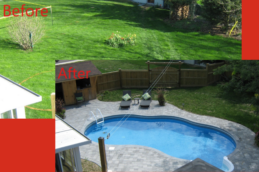 Pavestone: Before and After